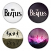 The Beatles button badge 1.75 inch custom backside 4 type Pinback, Magnet, Mirror or Keychain. Get 4 in package [7]
