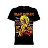 เสื้อยืด วง Iron Maiden แขนสั้น แขนยาว S M L XL XXL [19]