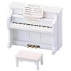 ซิลวาเนียน เปียโนสีขาว (EU) Sylvanian Families Upright Piano