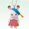 พวงกุญแจซิลวาเนียน เบบี้กระต่ายช็อคโกแล็ต (JP) Sylvanian Families Chocolate Rabbit Baby
