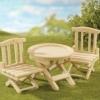 ซิลวาเนียน ชุดโต๊ะพร้อมเก้าอี้พับ (UK) Sylvanian Families Folding Table & Chairs