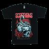 เสื้อยืด วง Scorpions แขนสั้น แขนยาว S M L XL XXL [1]