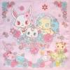ผ้าเช็ดหน้า จีเวลเพ็ท Jewelpet 30x30 cm Handkerchief - Flower