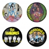 Ramones button badge 1.75 inch custom backside 4 type Pinback, Magnet, Mirror or Keychain. Get 4 in package [17]