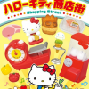 ReMent Hello Kitty Shopping Street รีเม้นของจิ๋ว ชุดเปิดท้ายขายของคิตตี 8 แบบ