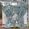 [SOLD OUT] ชุดผ้าม่านบ้านซิลวาเนียนลายดอกไม้สีฟ้า (JP) Sylvanian Families Curtain V3%