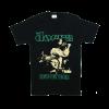 เสื้อยืด วง The Doors แขนสั้น งาน Vintage ลายไม่ชัด ทุกขนาด S-XXL [Easyriders]