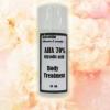 AHA 70% gel ( เอเอชเอ 70%) บอดี้ทรีทเมนต์ผิวกายขาวกระจ่างลดรอยดำคล้ำ