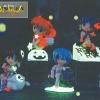โมเดลอีวานเกเลี่ยนฐานเรืองแสงในที่มืด 4 แพค (Evangelian Neon Genesis)