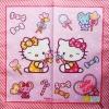 Hello Kitty Candy 30x30 cm Handkerchief ผ้าเช็ดหน้า เฮลโลคิตตี้