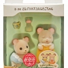 [SOLD OUT] ซิลวาเนียนเบบี้แฝดหนู ท่าคลาน-นอน (JP) Sylvanian Families Mouse Twins V5%
