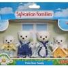 ซิลวาเนียน..ครอบครัวหมีขาว 4 ตัว (UK) Sylvanian Families Polar Bear Family
