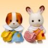ซิลวาเนียน ชุดนักเรียนสำหรับเบบี้ 2ชุด (JP) Sylvanian Families Kindergarten Uniforms