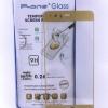 ฟิล์มกระจกเต็มจอ Huawei P10 Plus สีทอง