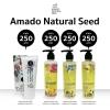 Amado NaturalSeed อมาโด้ แนชเชอเริลซีด ครบเซตมี 4 ตัว Set 1,000 บาท