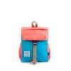 Hellolulu กระเป๋าเด็ก รุ่น LINUS - Neon Orange/Light Blue
