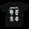 เสื้อยืด วง Metallica แขนสั้น แขนยาว S M L XL XXL [3]