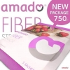 Amado Fiber อมาโด้ ไฟเบอร์ กล่องม่วง ดีท๊อกซ์ 1 กล่อง