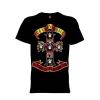 เสื้อยืด วง Guns N Roses แขนสั้น แขนยาว S M L XL XXL [8]