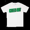 เสื้อยืด วง Greenday สีขาว แขนสั้น S M L XL XXL [1]