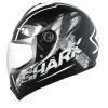SHARK S600 PINLOCK EXIT Mat Black white black