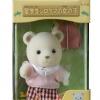 ซิลวาเนียน เด็กหญิงหมีขาวชุดนักเรียน (JP) Sylvanian Families Polar Bear from Abroad