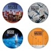 Muse button badge 1.75 inch custom backside 4 type Pinback, Magnet, Mirror or Keychain. Get 4 in package [1]