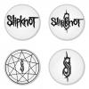 ของที่ระลึกวง Slipknot เลือกด้านหลังได้ 4 แบบ เข็มกลัด, แม่เหล็ก, กระจกพกพา หรือ พวงกุญแจที่เปิดขวด 1 แพ็ค 4 ชิ้น [1]