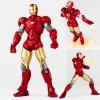 หุ่นโวลเทคไอรอนแมน Sci-fi Revoltech Series No 024 Iron Man [Mark VI]