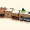 ซิลวาเนียน เคาน์เตอร์ครัว Sylvanian Families Kitchen Stove, Sink & Counter Set