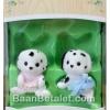 ซิลวาเนียนเบบี้แฝด ดัลเมเชี่ยน ท่านั่ง-คลาน (EU) Sylvanian Families Dalmatian Twins
