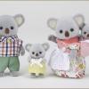 ครอบครัวซิลวาเนียนหมีโคอาล่า 4 ตัว (EU) Sylvanian Koala Family