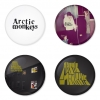 Arctic Monkeys button badge 1.75 inch custom backside 4 type Pinback, Magnet, Mirror or Keychain. Get 4 in package [4]
