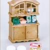 [SOLD OUT] ซิลวาเนียน ชุดตู้เก็บถ้วยชาม (JP) Sylvanian Families Cupboard V3%