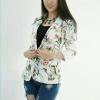 Zara Blazer Flower v3 สูท zara v3