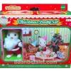 ชุดซิลวาเนียนซานต้ากับงานเลี้ยงคริสต์มาส (JP) Sylvanian Families Christmas Party Set