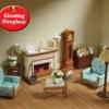 ซิลวาเนียน เฟอร์นิเจอร์ห้องนั่ง (UK) Sylvanian Families Drawing Room