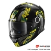 SHARK SPARTAN CARBON MEZMAIR Carbon Yellow Green