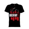 เสื้อยืด วง Greenday แขนสั้น แขนยาว S M L XL XXL [2]