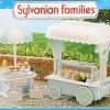 [SOLD OUT] ซิลวาเนียน รถเข็นขายไอศครีม (UK) Sylvanian Families Ice Cream Cart V5%
