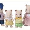 ครอบครัวซิลวาเนียน หนูแฮมสเตอร์ 4 ตัว Sylvanian Families Hamster Family