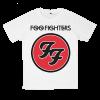 เสื้อยืด วง Foo Fighters สีขาว แขนสั้น S M L XL XXL [2]