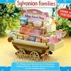 [หมดค่ะ] ซิลวาเนียน..รถเข็นขนมหวาน (Sylvanian Families Village Sweet Shop) V5%