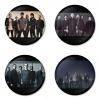 ของที่ระลึกวง Linkin Park เลือกด้านหลังได้ 4 แบบ เข็มกลัด, แม่เหล็ก, กระจกพกพา หรือ พวงกุญแจที่เปิดขวด 1 แพ็ค 4 ชิ้น [5]
