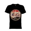 เสื้อยืด วง Johnny Cash แขนสั้น แขนยาว S M L XL XXL [2]