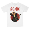 AC/DC rock band t shirts white tees cotton 100 S M L XL XXL [3]