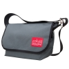 Manhattan Portage Vintage Messenger Bag JR – Grey Size MD