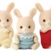 ซิลวาเนียน เบบี้แฝดกระต่ายแชมเปญ 3 ตัว (UK) Sylvanian Families Champagne Rabbit Triplets