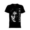 เสื้อยืด วง John Lennon แขนสั้น แขนยาว S M L XL XXL [4]