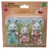 ครอบครัวซิลวาเนียนกระต่ายสีเทา 3 ตัว (EU) Sylvanian Families Grey Rabbit Family
